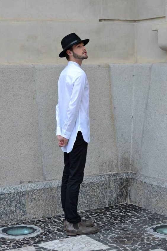 ootd, style, fashion, look do dia, moda masculina, blazer, cabelo masculino, chelsea boots, botas, chelsea, chapéu, hat
