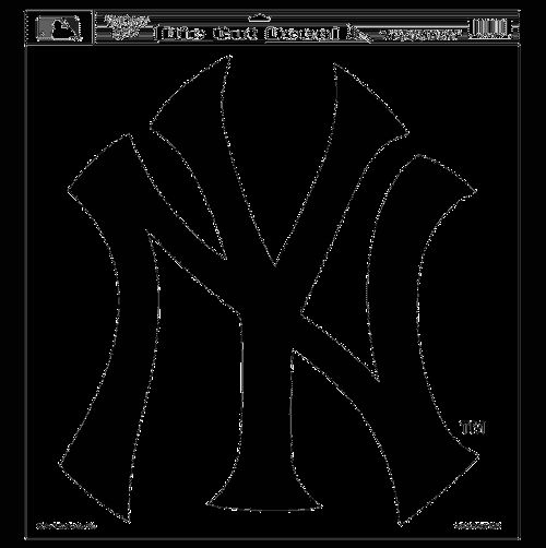 $24.99 Free shipping  Yankees 18x18 Decal  MLB professional sports merchandise