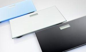 Balanza digital de baño de vidrio templado