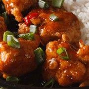 A Healthy Twist on General Tso's Chicken