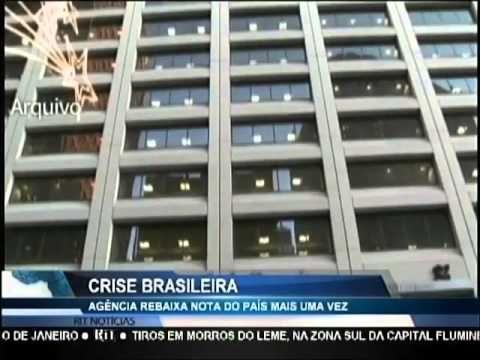 Agência Standard & Poor's rebaixa nota do Brasil novamente