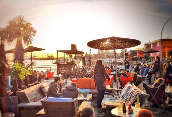 endlich Frühling Sommer sun strandpauli hamburg werkend bestweather drinks people fun relax