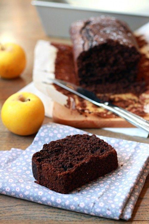 Cake au chocolat noir allégé : la recette facile