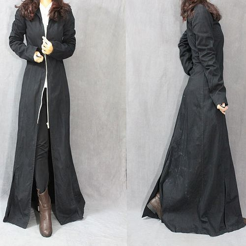 Cashmere maxi Coats for Women | length coat x-long trench coat