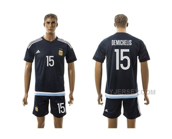 http://www.yjersey.com/argentina-15-demichelis-away-2016-copa-america-centenario-soccer-jersey.html ARGENTINA 15 DEMICHELIS AWAY #2016 COPA AMERICA CENTENARIO SOCCER JERSEYOnly$35.00  Free Shipping!
