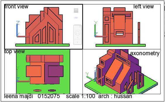Leena Majdiالرسم والاظهار المعماري (Arch. Drawing & Representation ) May 11 ·: