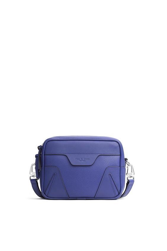 Rag & Bone Mini Flight Camera Bag in Cobalt