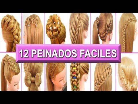 4 Peinados Casuales Para Cabello Largo Con Trenzas Diademas Faciles Y Rapidos Youtube Trenzas Para Cabello Largo Peinados Faciles Trenzas Para Cabello Corto