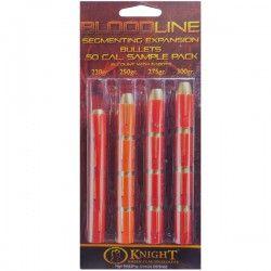 Bloodline 50 cal Muzzleloader Bullet Sample Pack - www.knightrifles.com