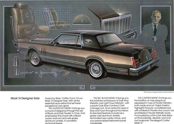 Lincoln Continental Sedan With Town Car Package  LincolnS