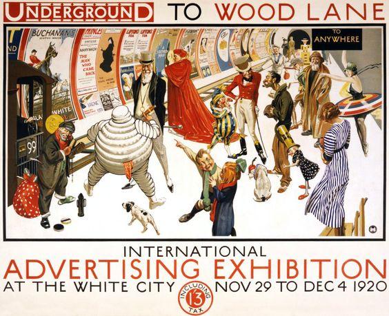 150 ans d'affiches du métro de Londres