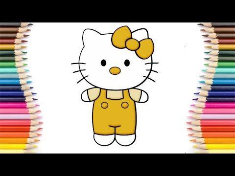 رسم سهل رسم هيلو كيتي سهلة كيفية رسم قطة بطريقة سهلة تعليم الرسم رسم كرطون Youtube Hello Kitty Kitty Fictional Characters