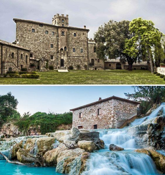 Castel Porrona, Tuscany, Italy