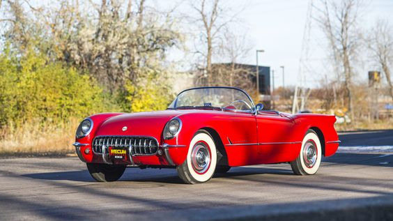 1954 Chevrolet Corvette Convertible (Lot L64.1) at the Mecum Auction, Kissimmee, Florida January 6-15, 2017