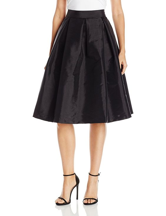 Jessica Howard Women's Pleated Midi-Length Separate Skirt at Amazon Women's Clothing store: