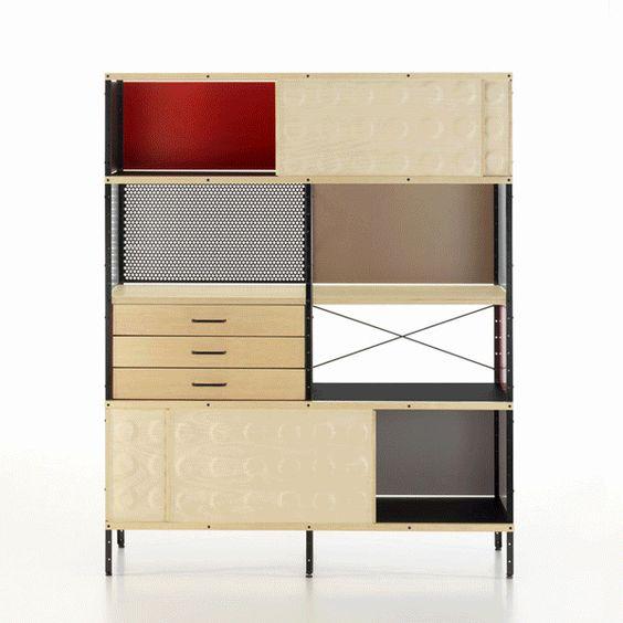 La unidad de almacenamiento Eames (ESU), es una fiel representación del estilo y…