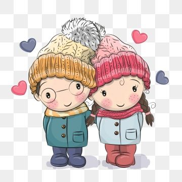 winter little boy little girl cartoon couple 520 valentines day romantic white valentine tanabata confes boy and girl drawing winter illustration cute drawings winter little boy little girl cartoon