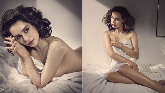 Fotos: el desnudo de Emilia Clarke para la revista Esquire | Emilia Clarke, Game Of Thrones - América