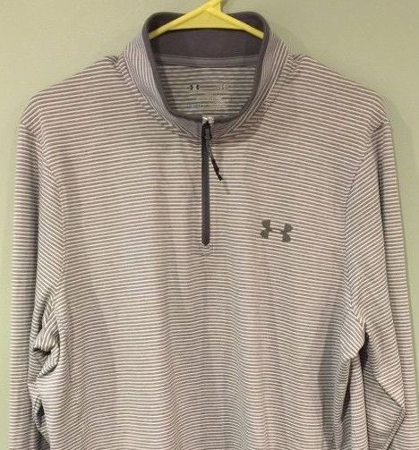 NWOT Under Armour Mens ColdGear Infrared 1/4 Zip L/S Pullover LARGE LOOSE FIT #UnderArmour #ShirtsTops