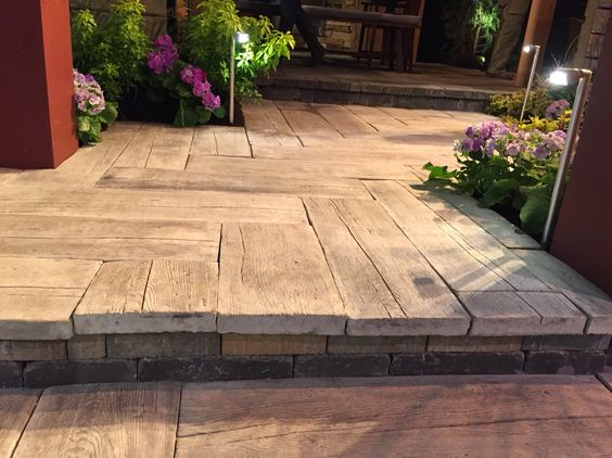 Barn Plank Pavers! | Garden Ideas | Pinterest | Planks And Barns