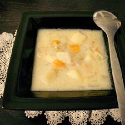 Hearty Potato, Bacon and Onion Soup