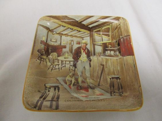 New Hall Hanley Decorative Plate