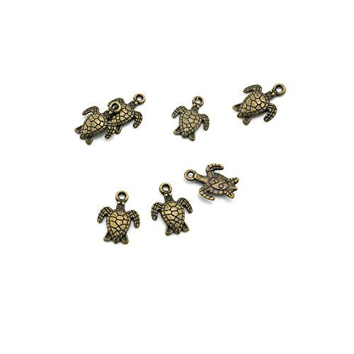 Price Per 630 Pieces Antique Bronze Jewelry Making Charms Findings Supplies 09654 Sea Turtle Craft Ancient Repair Lots Diy Pendant Vintage Read More At