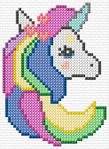 Free Printable Unicorn Cross Stitch Patterns : printable, unicorn, cross, stitch, patterns, Unicorn|4136, Unicorn, Cross, Stitch, Pattern,, Disney, Stitch,