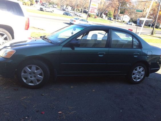 2001 Honda Civic 2001 HONDA CIVIC EX 4 DOOR 1.7L NEEDS TRANSMISSION WORK