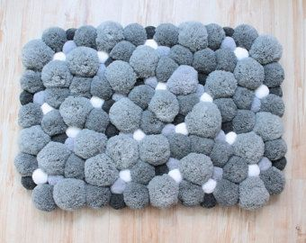 Pom Rug Heart Soft Area Plush By Pompommyworld прикраси Pinterest Bedrooms And