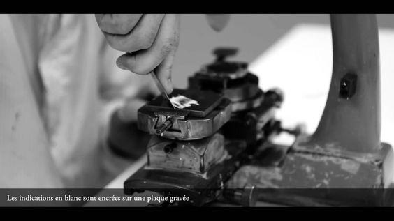 @PATEKPHILIPPE : Making a dial (decalque) ••• L'ART DES BEAUX CADRANS