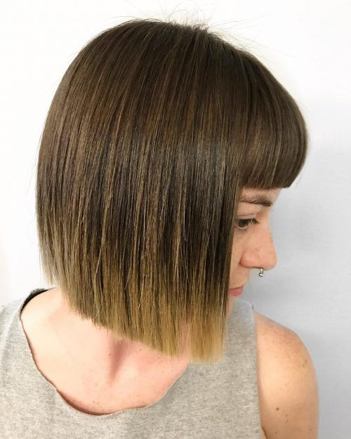 15 Hottest Short Bob With Bangs You Ll See In 2021 Bob Hairstyles Short Bob Haircuts Short Bobs With Bangs