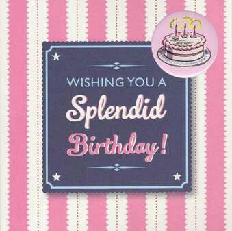 Splendid Birthday 🎉🎀🎉
