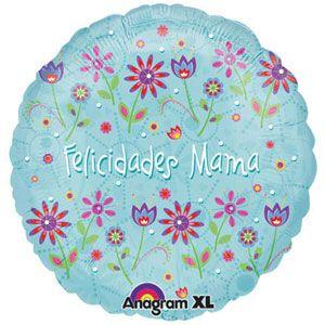 """18"""" Felicidades Mama Floral"""