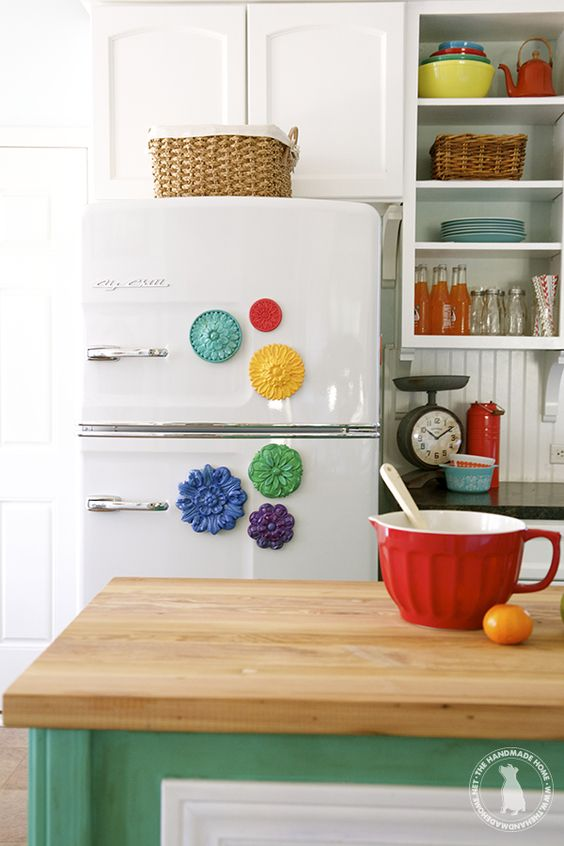 One of the brightest and cheeriest kitchens and pantries I have ever seen!