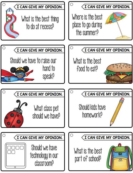 Great writing prompts for how-to writing, opinion writing, and inform/explain writing!