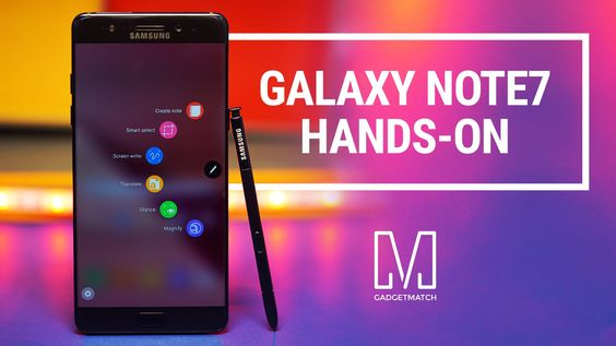 Samsung Galaxy Note 7 Hands-On Review #samsung #galaxynote7 #smartphone