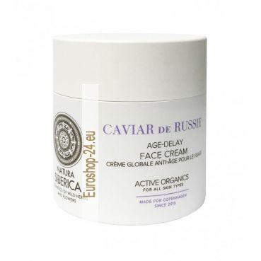 Age Delay Gesichtscreme, Caviar de Russie, 50 ml, Copenhagen Natura Siberica