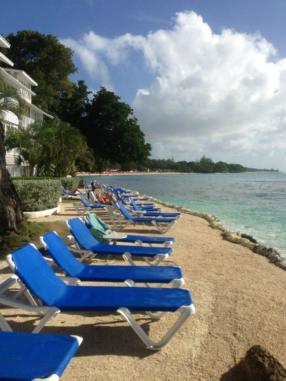 Barbados All Inclusive Resort: Beach view at The Club Barbados