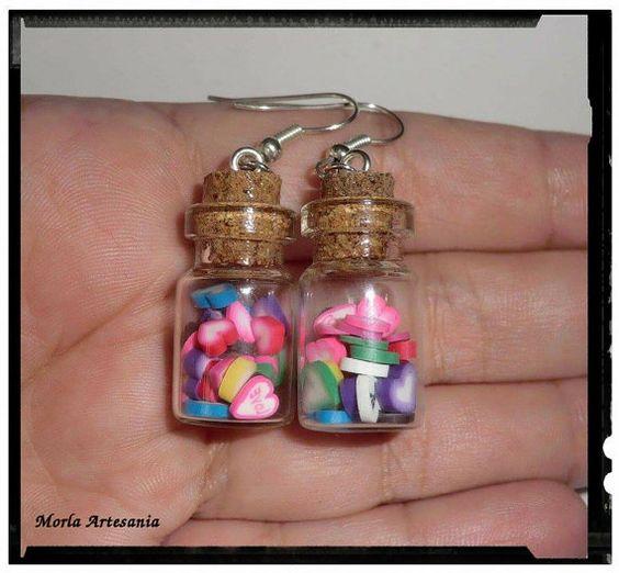 Mira este artículo en mi tienda de Etsy: https://www.etsy.com/es/listing/254310662/pendientes-hearts-in-the-bottle