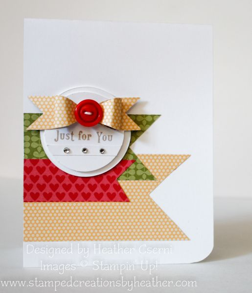 Stampin' Up! Clean and Simple  by Heather Cserni
