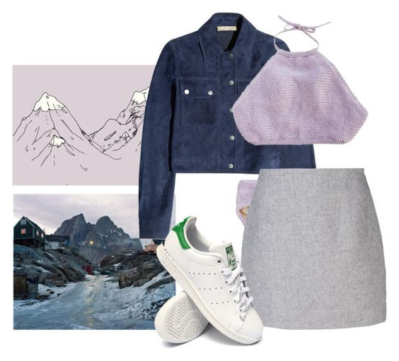 """""""Untitled #258"""" by lilylike ❤ liked on Polyvore featuring Michael Kors, Atto and adidas"""