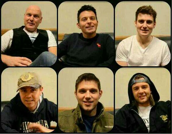 Celtic Thunder lads' Thanksgiving greetings!!! ;-)