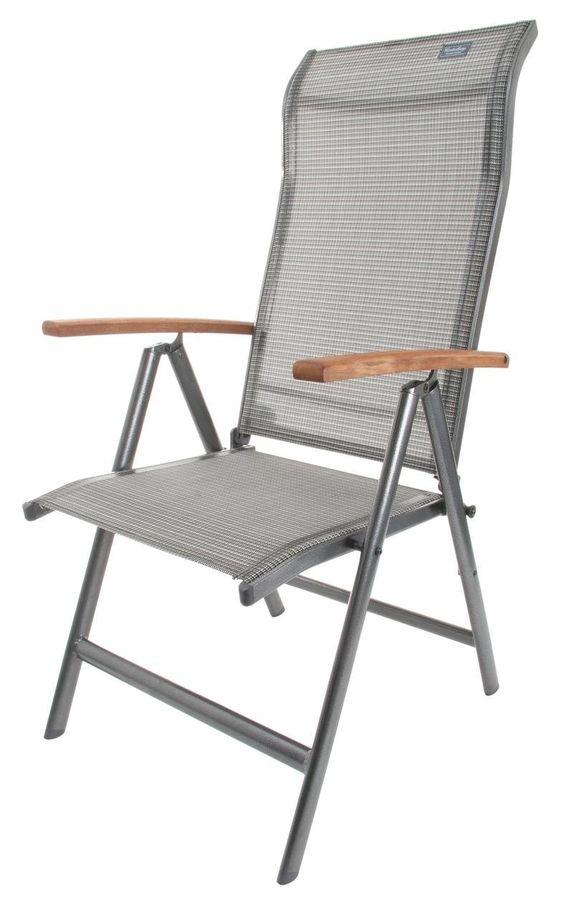 canterbury gartenstuhl klappstuhl mit holz armlehne sport freizeit gartenm bel. Black Bedroom Furniture Sets. Home Design Ideas
