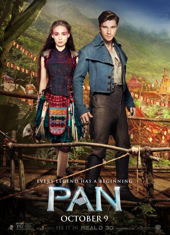 Toda leyenda tiene un inicio, nuevo póster de #PAN: Tiger Lily (Rooney Mara) y Hook (Garett Hedlund):