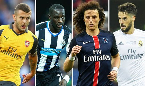 Transfer Deadline Day LIVE: David Luiz to join Chelsea Wilshere to Bournemouth and MORE