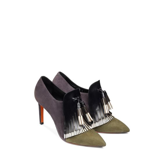 Suede ankle boots | Santoni Shoes