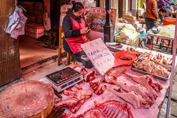 https://flic.kr/p/G3X7Vy | Street Market - Suzhou - China | Canon EOS 700D
