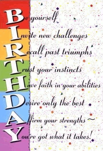 Inspiring Happy Birthday Wishes