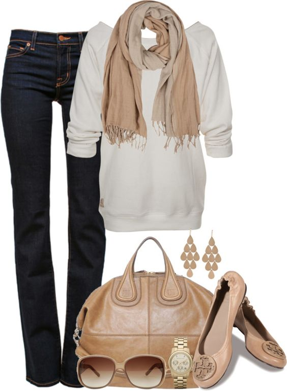 Keep it simple autumn outfit.: